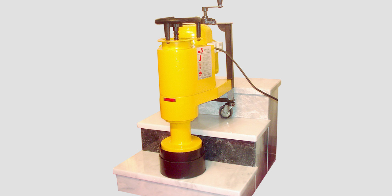 step polishing machine