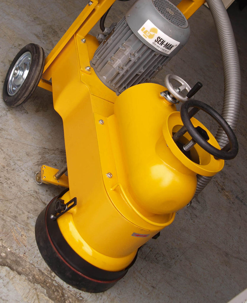 mermer beton zemin parlatma makinesi
